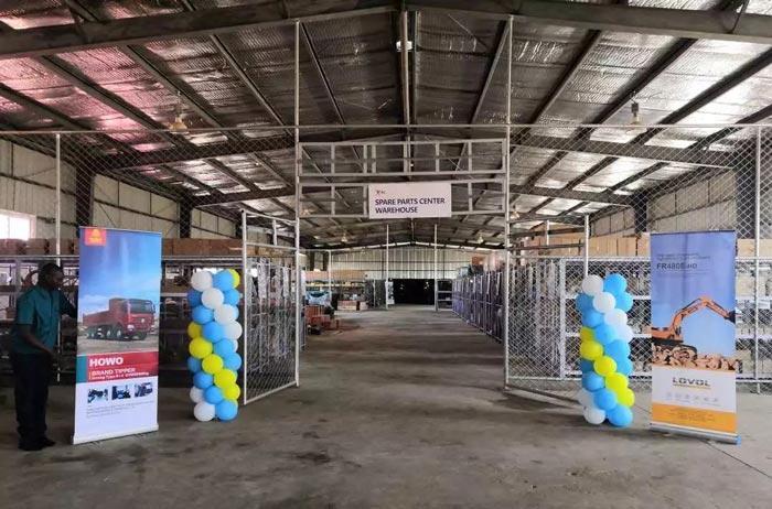 合创汽车赞比亚公司重汽配件中心库正式启动, 中赞合作,与国同贺!