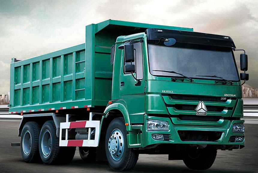 Sinotruk Howo Tipper Truck 6x4 371HP